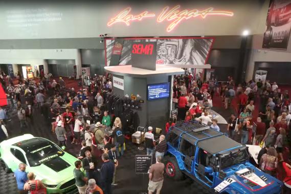 L'exposition annuelle de la SEMA (Specialty Equipment Market Association) s'est terminée vendredi dernier à Las Vegas. (Photo : SEMA)