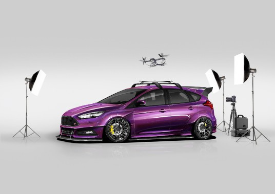 Ford Focus ST par Blood Type Racing ()