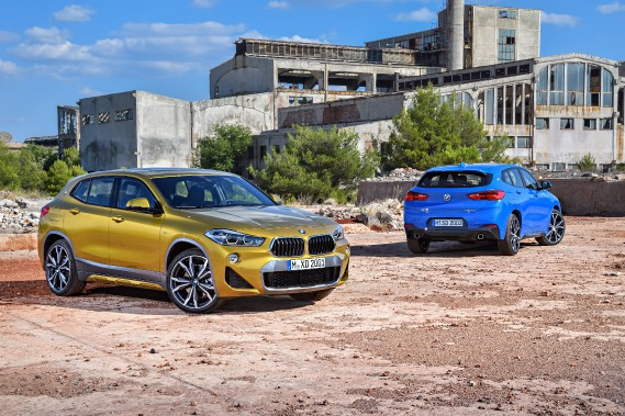 Le BMW X2 (Photos : BMW)