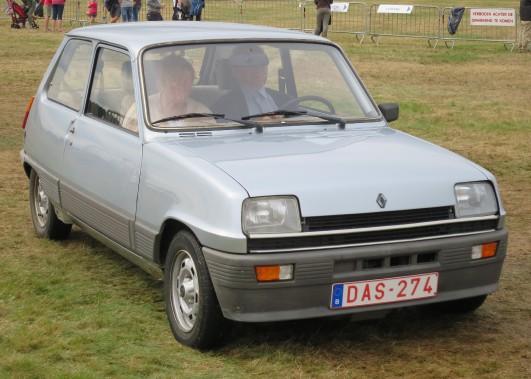 <strong>SA PIRE VOITURE -</strong>Une Renault 5 qui consommait beaucoup de courroies de ventilateur. (Photo: Wikipédia)