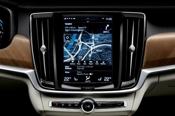 Volvo Sensus (Photo : Volvo)