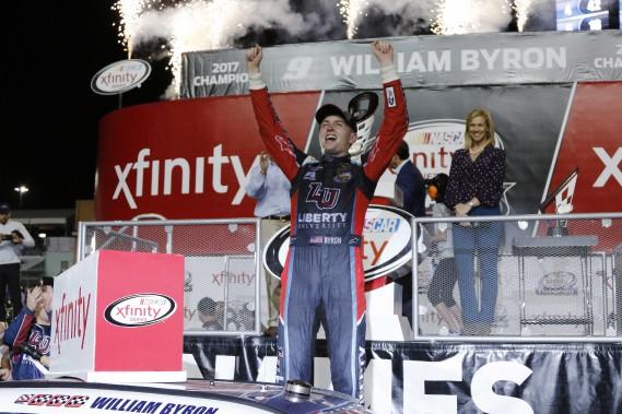 NASCAR: William Byron est le champion de la série Xfinity