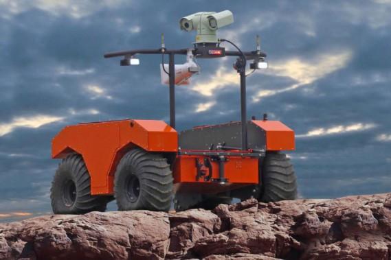 Le robot ARGO J5 de l'entreprise ODG scrute l'intérieur de mines trop dangereuses pour les humains. (ODG)