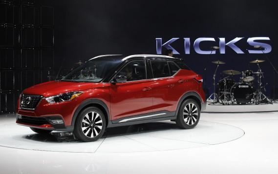 La Nissan Kick S a est exposée au Salon de l'auto de Los Angeles. (REUTERS)