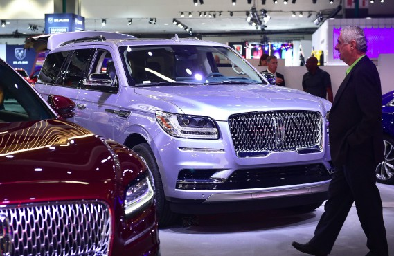 Le nouveau Lincoln Navigator 2018. (AFP)