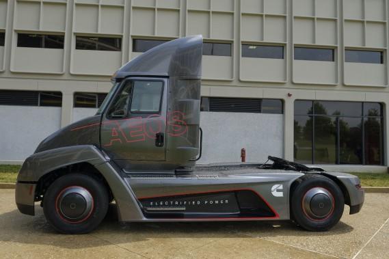 Le prototype Aeos 1 de Cummins se veut le camion de livraison urbain de demain - Crédit: Cummins ()