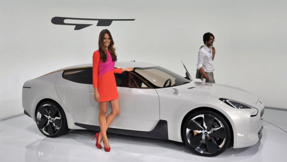 Le Concept GT présenté au salon de Francfort en 2011 préfigurait sa venue. (KIA)