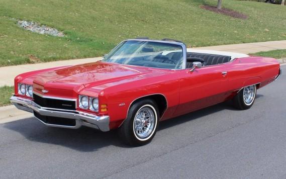 <strong>LA VOITURE QUI A MARQUÉ SON ENFANCE -</strong> La Chevrolet Impala décapotable de son père. (Photo : Wikipédia)