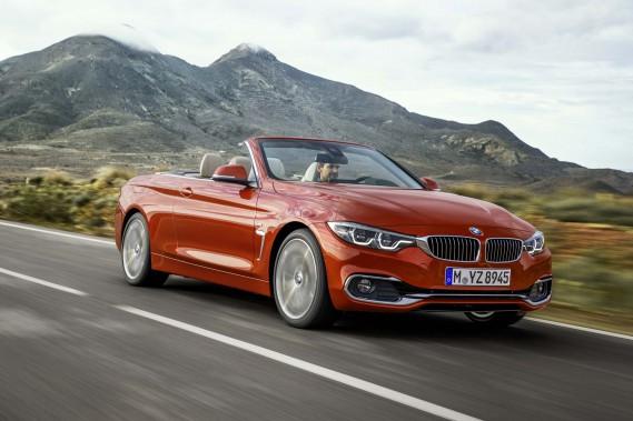 <strong>SA VOITURE DE RÊVE -</strong>Elle aimerait bien rouler un jour en BMW 430 décapotable. (Photo : BMW)