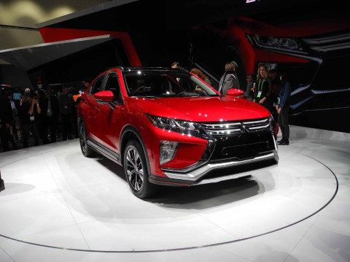 Le Mitsubishi Eclipse Cross. (Photo: Éric Lefrançois)