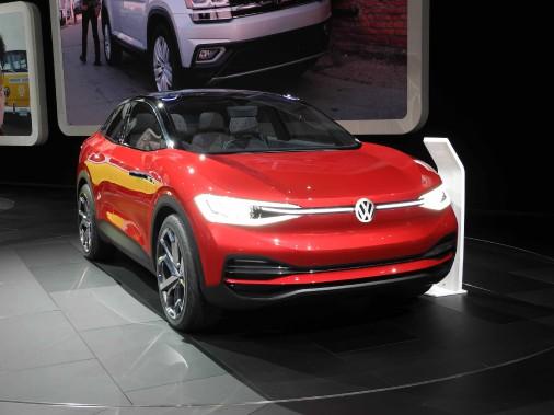 Le Volkswagen I.D.Crozz. (Photo: Éric Lefrançois)