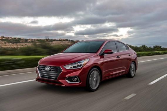 La cinquième génération de la Hyundai Accent, lancée ces jours-ci, s'étale sur près de 4,4 m, un gain de 28cm par rapport au modèle original. (PHOTO FOURNIE PAR LE CONSTRUCTEUR)