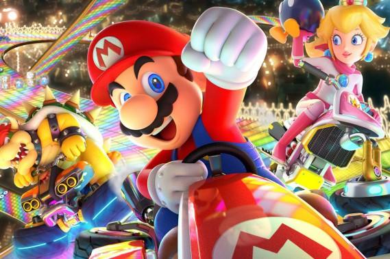 Jeu vidéo Mario Kart 8 Deluxe (Nintendo)