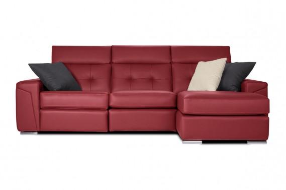 Rouge «caliente»:Les modèles Sydney, comme tous ceux de la collection Optima, peuvent être personnalisés, explique Daniel Walker, propriétaire de Jaymar. Un vaste choix de coloris est proposé. La largeur des sièges et la profondeur d'assise sont offertes en deux dimensions. Les bras peuvent aussi être moins larges. (PHOTO FOURNIE PAR JAYMAR)