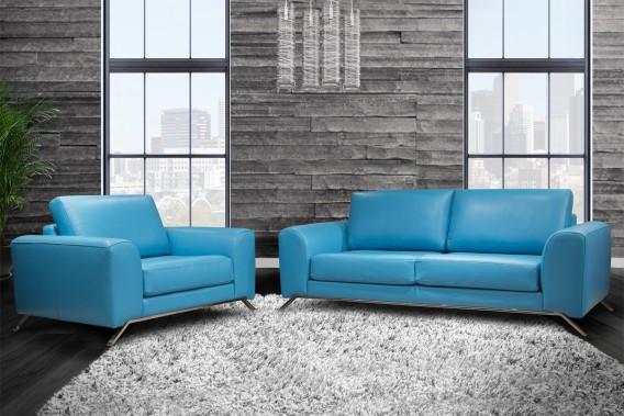Les pattes des canapés et des fauteuils s'amincissent. Ajoutez à cela l'insertion d'éléments en métal et vous obtenez un mobilier à l'allure plus raffinée. «Dans le modèle Fendi, le métal est chromé. Un autre modèle a une base dorée. C'est très chic», souligne Enzo Basilicata, président de Bugatti Design. (PHOTO XPOSURE PHOTOGRAPHIE FOURNIE PAR BUGATTI DESIGN)