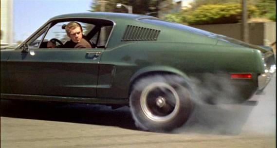 Steve McQueen dans une scène du film<em>Bullitt.</em> ()