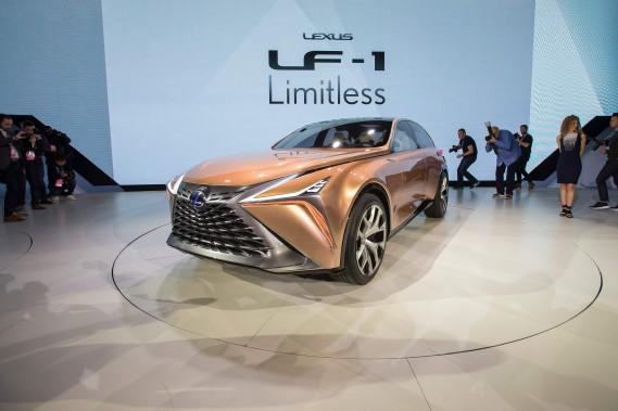 Le prototype Lexus LF-1 . (AFP)