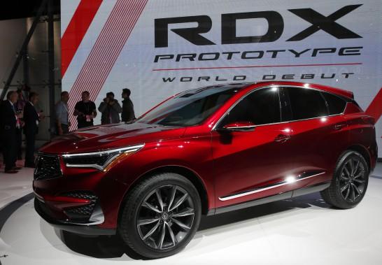 L'Acura RDX, un prototype qui est sans doute le véhicule japonais le plus américain. (REUTERS)