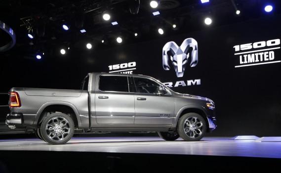 Le Ram 1500 Limited 2019 présenté au Salon de l'auto de Détroit. (APFi)