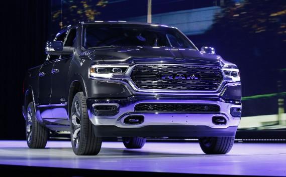 Le Ram 1500 Limited 2019 présenté au Salon de l'auto de Détroit. (REUTERS)