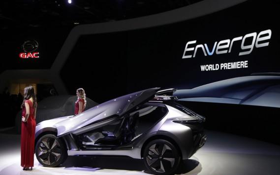 Le prototype électrique Enverge (AP)