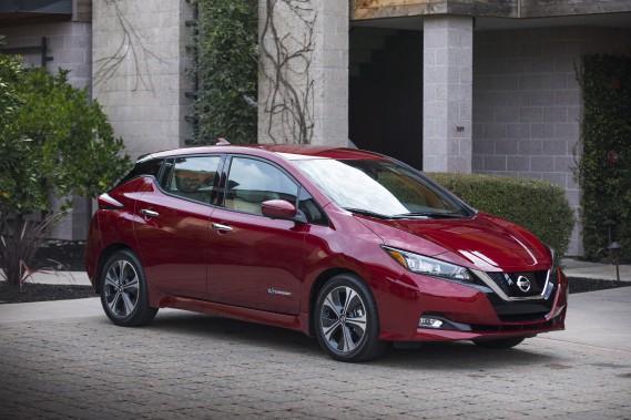 Nissan Leaf 2018 - crdit: Nissan ()