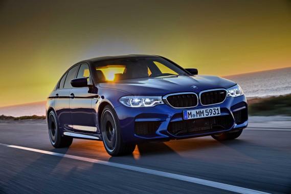La BMW M5 ()