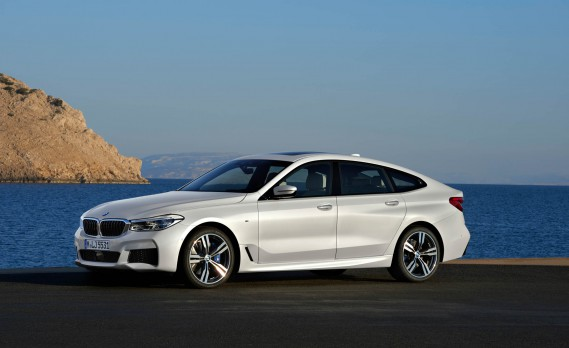 La BMW Série 6 GT. ()