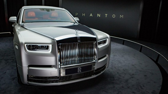 La Rolls-Royce Phantom 2018 : 2500 kg d'opulence ostentatoire. (Photo : Rolls-Royce)
