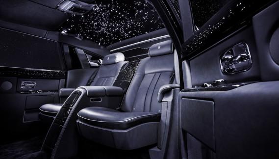 La Rolls-Royce Phantom 2018 : 2500 kg d'opulence ostentatoire. ()