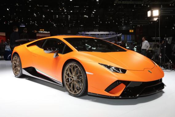 Lamborghini au Salon de l'auto : V10 et aérodynamisme