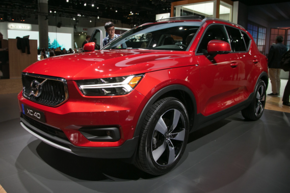 Volvo au Salon de l'auto : le XC40 pour abaisser l'âge moyen de la clientèle