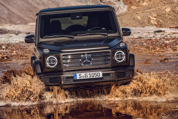 Mercedes et ses ingénieurs n'ont pas jugé nécessaire d'altérer la forme iconique du Classe G et l'ont donc laissée intacte. Le constructeur a plutôt demandé à son équipe de se concentrer sur la refonte totale de tout le reste. (Toutes les photos : Mercedes Benz)