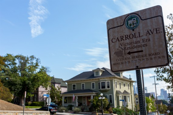 Une bonne marche et quelques volées d'escaliers plus tard, nous voici près de l'avenue Carroll, dans le quartier plutôt huppé d'Angelino Heights. (PHOTO OLIVIER JEAN, LA PRESSE)
