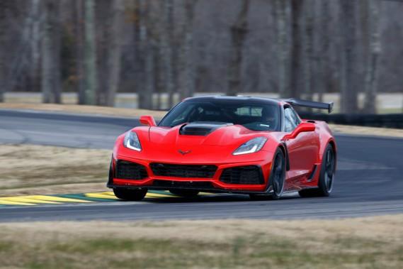 La Corvette ZR1 plus vite que la Ford GT en Virginie