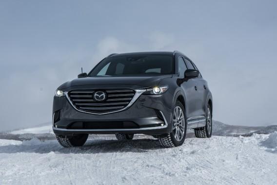 Sans qu'on puisse le qualifier d'exceptionnel --c'est un multisegment après tout-- le CX-9 présente une belle harmonie dans les lignes. (Toutes les photos : Mazda)
