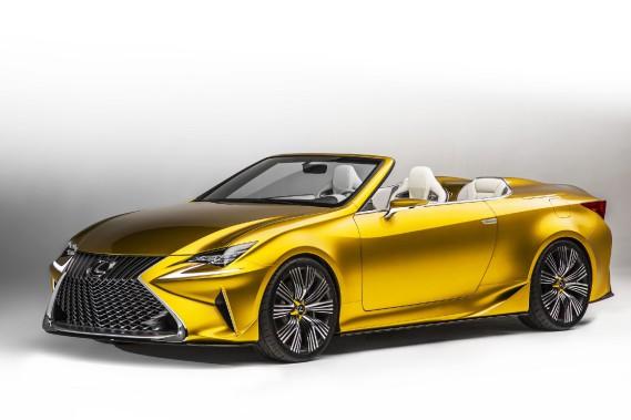 Lexus prépare des versions épicées et décapotables de sa LC