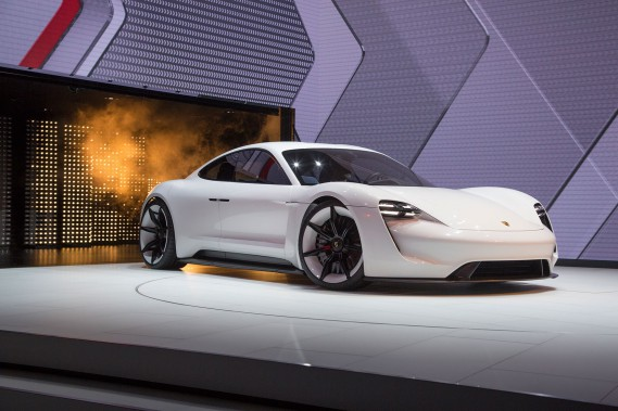 Porsche Mission E (Photo : Porsche)