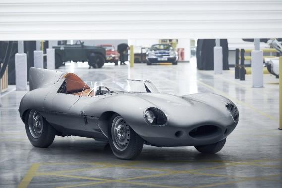 Jaguar réanime la production de sa D-Type