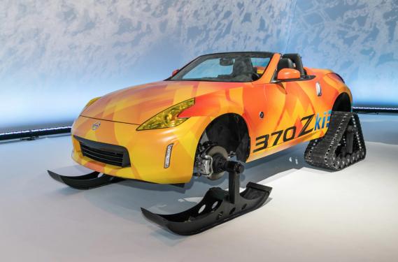 Avec le prototype 370Zki Roadster, Nissan refait avec cette décapotable un truc déjà fait avec le Rogue. ()
