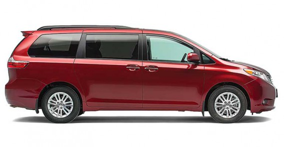 Meilleur choix, fourgonnette : Toyota Sienna (PHOTO : CONSUMER REPORTS)