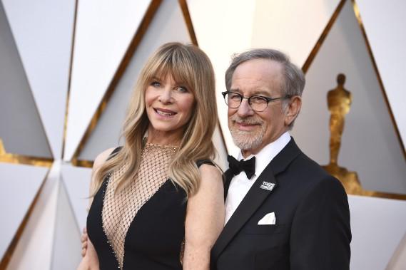 Kate Capshaw et Steven Spielberg. (AP)