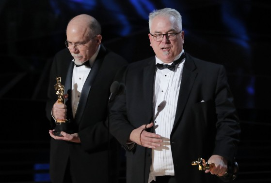 L'Oscar du meilleur montage sonore est allé à Richard King et Alex Gibson, pour <em>Dunkirk</em>. (REUTERS)