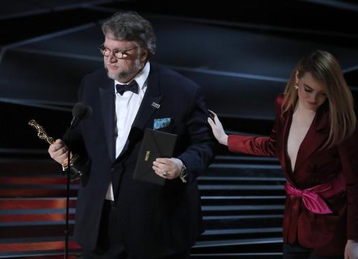 Guillermo del Toro a remporté l'Oscar du meilleur réalisateur pour <em>The Shape of Water</em>. (REUTERS)