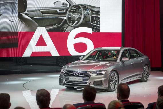 La nouvelle Audi A6 entièrement refaite est une voiture à moteur à essence conventionnel. (ue)