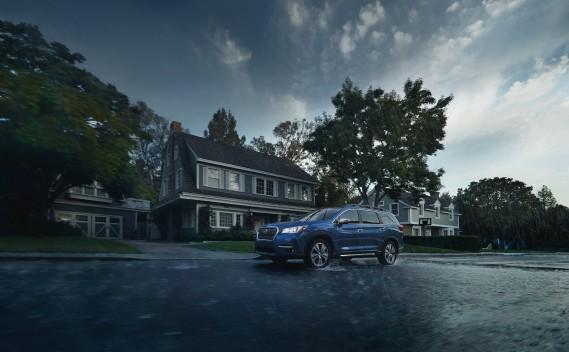 Subaru proposera dès l'été l'Ascent, un nouveau VUS pour concurrencer les Honda Pilot, Mazda CX-9 et Ford Explorer. (Photo Subaru)