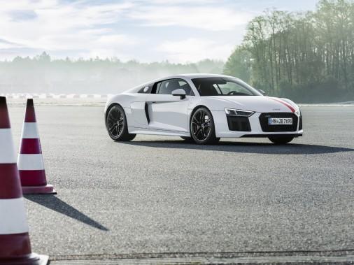 Audi R8 V10 RWS. (Audi)
