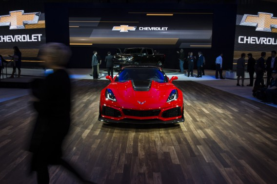 Chevrolet Corvette ZR1 (Presse Canadienne)