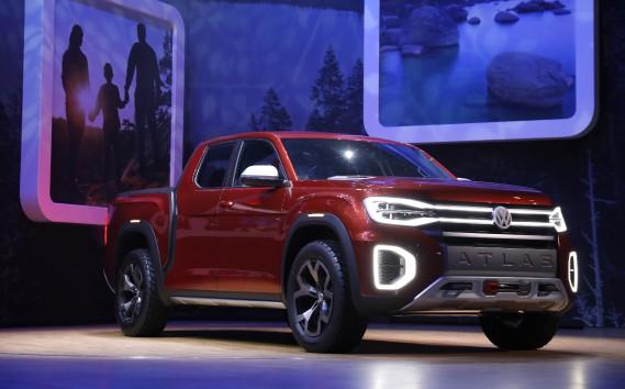Le prototype de pickup Atlas Tanoak (REUTERS)