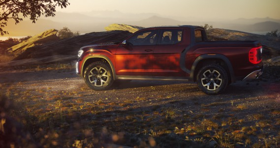 Le prototype de pickup Atlas Tanoak ()